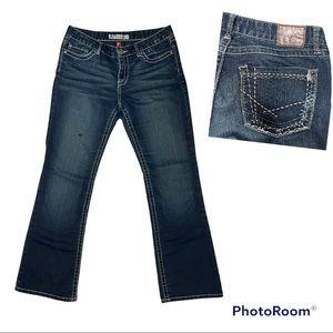 Women's Buckle BKE CULTURE Stretch Denim Boot Cut Jean | Size 30
